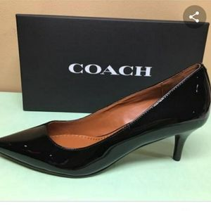 BRAND NEW IN BOX Coach heels. Never worn!